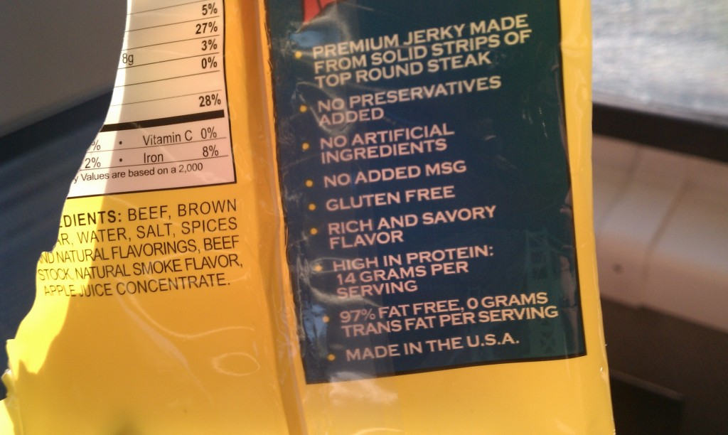 Proof that beef jerky is good for you. And America.