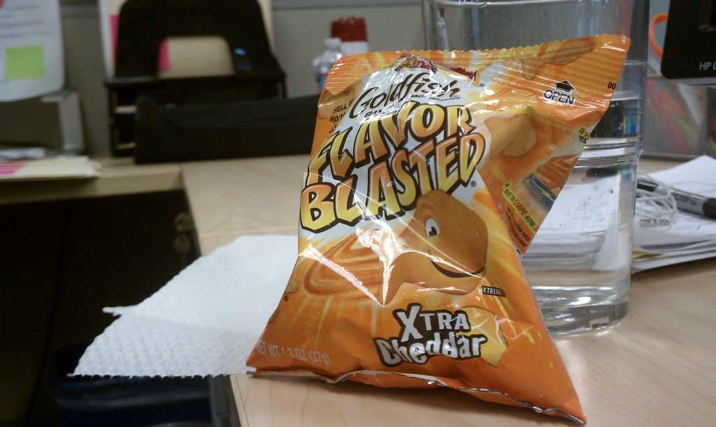 Flavor blasted to your face!
